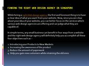 Finding the Right Web Design Agency in Singapore