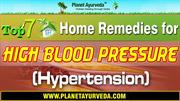 Manage Hypertension with top 7 Home Remedies
