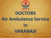 Emergency Air Ambulance Service in Varanasi at Best Fare