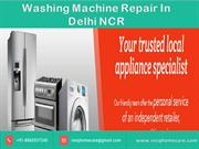 Maintain proper appearance with Washing Machine Repair in Delhi NCR