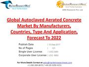 Global Autoclaved Aerated Concrete Market By Manufacturers, Countries,