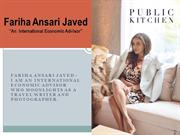 Fariha Ansari Javed - International Economic Advisor