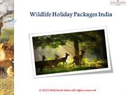 Wildlife Holiday Packages India