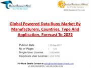Global Powered Data Buoy Market By Manufacturers, Countries, Type And