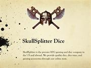 SkullSplitter Metal Dice Set PDF