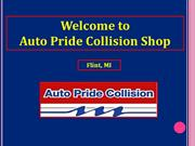 Auto Body Repair Services to Improve Your Vehicle Performance in Flint