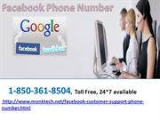 Dial Facebook Phone Number for Facebook Page Settings 1-850-361-8504