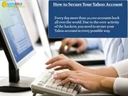 How to Secure Your Yahoo Account