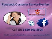 Facing Troubles While Using Facebook,Call Facebook Customer Service 1-