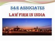 SNR Law - Law Firm in India
