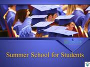 Summer School for Students