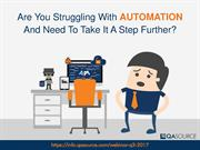 Webinar - Accelerate Your Automation With API Testing