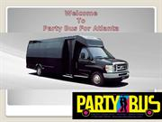 Party Bus in Atlanta Ga