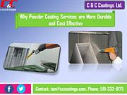 Why Powder Coating Services are More Durable and Cost Effective
