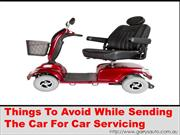 Things To Avoid While Sending The Car For Car Servicing