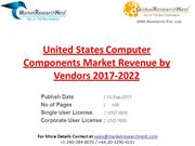 United States Computer Components Market Revenue by Vendors 2017-2022
