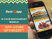 Is your restaurant mobile app store optimized