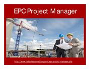EPC Project Manager | EPC Jobs | EPC Project Manager Job