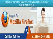 18002402551 Mozilla Firefox Support Number