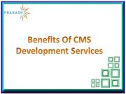 Benefits of CMS Web Development | CMS Developers India