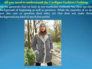 All you need to understand the Cardigan Fashion Clothing