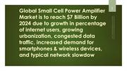 Global Small Cell Power Amplifier Market is to