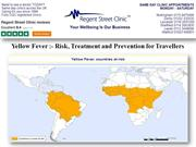 Yellow Fever :- Risk, Treatment and Prevention for Travellers