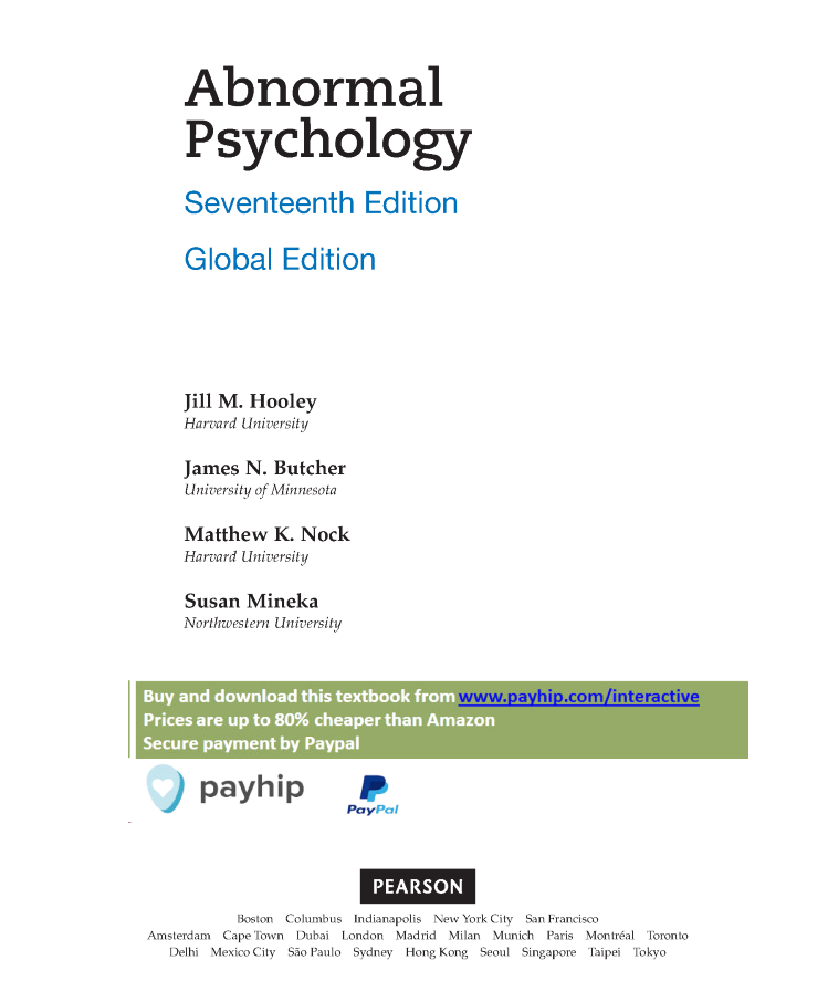 Abnormal psychology global edition authorstream abnormal psychology global edition fandeluxe Choice Image