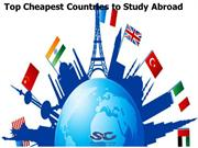 Top Cheapest Countries to Study Abroad