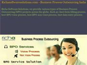 Business Process Outsourcing | Business Process Outsourcing India