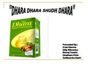 Advertising Strategy of Dhara refined