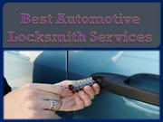 Best Automotive Locksmith Services