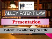 Patent law attorney Seattle