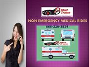 Services offered by non emergency Medical Rides