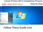 Canon Printer Wi-Fi Installation Process Step by Step