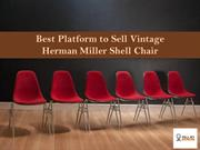 Sell Vintage Herman Miller Shell Chair - Sell My Aeron