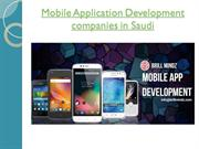Mobile App Development in Saudi