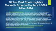 Cold Chain Logistics Market