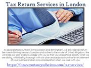 Exceptional Tax Return Services Birmingham - The Accountancy Solutions