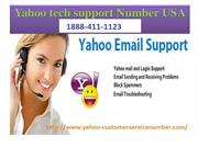 Yahoo Customer Support Number USA