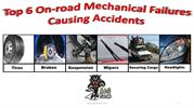 Top 6 On-road Mechanical Failures Causing Accidents