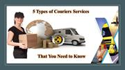 Courier Service Providers in UAE & Courier Companies in UAE