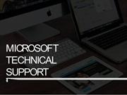 Microsoft technical support  issue