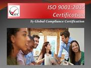 New ISO 9001:2015 Certification