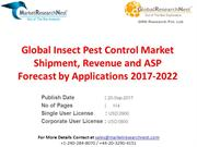 Global Insect Pest Control Market Shipment, Revenue and ASP Forecast b