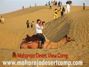 Maharaja Desert View Camp | Desert safari camp in Jaisalmer