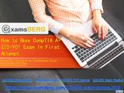 Get Latest CompTIA  220-901 Exam Questions
