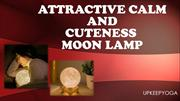 Attractive Calm And Cuteness Moon Lamp