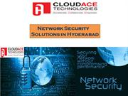 Network Security  Solutions in Hyderabad