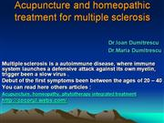 Acupuncture and homeopathic treatment fo